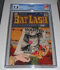 Showcase # 76...CGC Universal slab 7.5  VF- grade--cb..1st Bat Lash..1968 comic