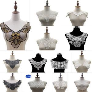 White Lace Trim Collar Blind Dresses Hat/Millinery Headband Lingerie DIY