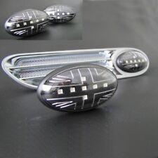 Union Jack Fari Led Neri per Mini Cooper R50 R53 2001-11/2006 R52-03/2009