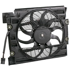 A/C Condenser Cooling Fan Assembly Fit BMW 540i 528i 97 98 621-204 64548380780