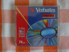 1 Brand New VERBATIM MD74 Minidisc - Factory sealed