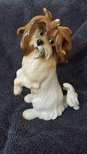 Vintage Antique Porcelain Karl Ens Germany Shih Tzu dog figurine