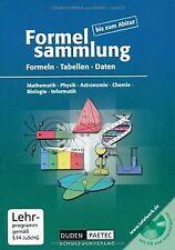 Formelsammlung bis zum Abitur - Mathematik - Physik - As... | Buch | Zustand gut