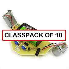 (CLASSPACK OF 10) The New Light Spider Robot II Kit Soldering Assembly required