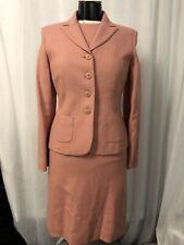 Ann Taylor Women's Dress Blazer Suit Silk Linen Wool Fully Lined Size 2 NWT $368
