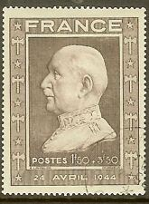 "FRANCE TIMBRE STAMP N° 606 "" MARECHAL PETAIN 1F50+3F50 "" OBLITERE TB"