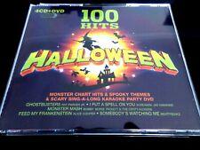 100 HALLOWEEN HITS   - 4 x CD & 1 DVD  BOXSET   *NEAR MINT*  (  PARTY /BEST OF )