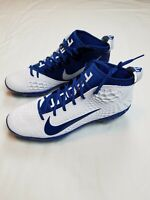 Nike Force Zoom 5 Mike Trout Men's Size 12 Baseball Cleats White/Blue AH3373-144