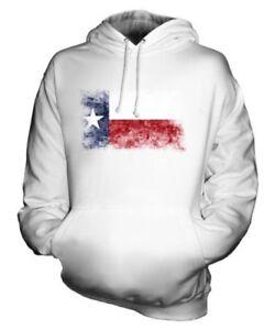 Texas State Bandiera Effetto Consumato Felpa Unisex Maglia Texan Jersey Regalo