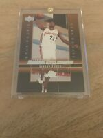 2003-04 Upper Deck Rookie Exclusives Lebron James Rookie Card #1 Great Card!