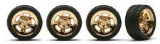"""Pegasus 1278 x 1/24-1/25 Hella's 19"""" Gold Rims w/Tires (4)"""