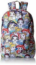 Loungefly Disney Princesses Ariel Cinderella Belle Laptop Bag Backpack WDBK0128