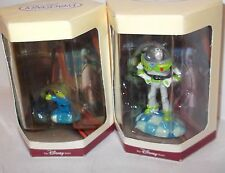 Disney~Tiny Kingdom Statue~Toy Story~Set~Alien~Buzz LOT of 2 MISB