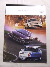 CHRYSLER RANGE 1999 BROCHURE FOLD OUT STYLE NEON PT CRUISER VOYAGER CHARGER