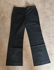 Women's REISS Tailored Pants - New - Size 12 - Black - Wide leg