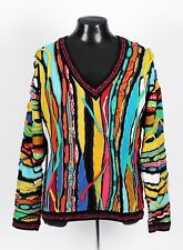 Fantastic COOGI V-Neck Sweater - Cosby Ugly Biggie - M L
