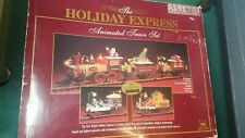 NEW BRIGHT THE HOLIDAY EXPRESS ANIMATED SPECIAL 2000 TRAIN SET 385 WORKING