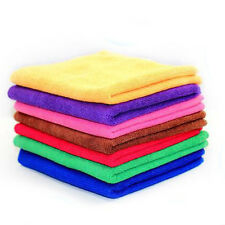 Hot Sale Microfiber Towel Water Car Dry Clean Absorbant Cloth Random Color