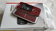 100% Brand New Nokia E75 - Red (Unlocked) Smartphone
