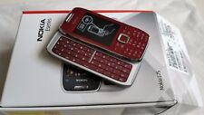 Nokia E75 - Red (Unlocked) Smartphone