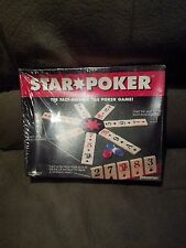 STAR TILE POKER GAME 1994 PRESSMAN NEW FACTORY SEALED BOX