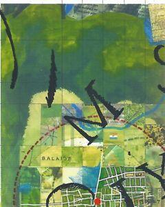 Jerry's Map Original Panel N16/E7 Gen VIII Collectible Process Map Art!