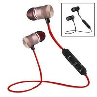 Magnet Sport Drahtloser Bluetooth Kopfhörer Kopfhörer Für Iphone Samsung