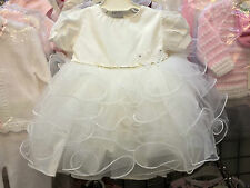 Dress 100% Cotton Baby Christening Clothing