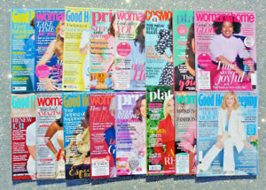 16 x GOOD HOUSEKEEPING / WOMAN & HOME / COSMO / PRIMA MAGAZINE BACK ISSUES ~ NEW