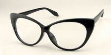 Vintage Leopard Sexy Cat-Eye New Women Shape Glasses Plain Lady Eye Plastic Girl