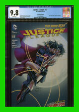 Justice League #12 NYCC Variant CGC 9.8 Jim Lee White Pages 1st Superman Kiss
