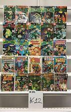Vintage Dc Green Arrow Dc 25 Lot Comic Book Comics Set Run Collection Box