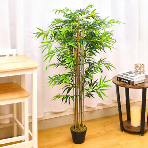 150cm Artificial Tree Plant Potted Bamboo Outdoor Indoor Plant Home Office Decor