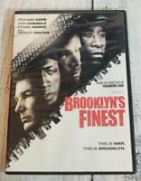 Brooklyn's Finest DVD 2010 Movie Rated R Richard Gere Wesley Snipes