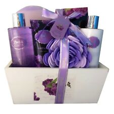 Christmas-Spa-Bath And Body Works-Gift-Basket-Set Shower-Soap For -Her-Women-Mom