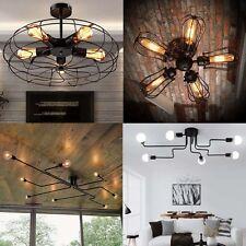 Industrial Vintage Modern Iron Ceiling Pendant Chandelier Lamp Light Shade Decor