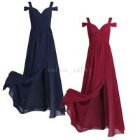 Women Formal Long Dress Evening Cocktail Party Ball Gown Prom Bridesmaid Maxi