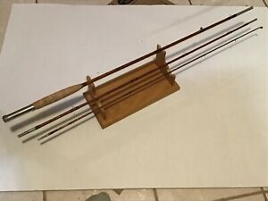 """Vintage H.L. Leonard 8' 51/2""""  Bamboo Fly Rod """"Special Tournament"""" NO RESERVE!"""