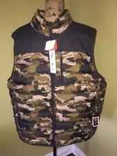 Polyester Camouflage Regular 2XL Vests for Men