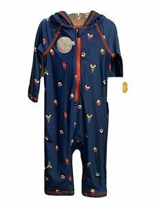 BNWT Debenhams Baby Girls Disney Frozen Toddler One Piece Swimsuit