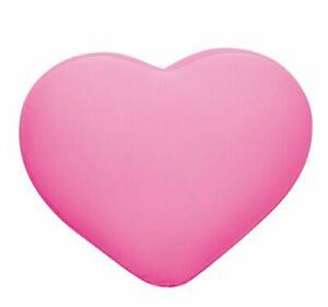 MOGU Heart Pillow Cushion Shocking Pink 836137 Expedited Shipping From Japan NEW
