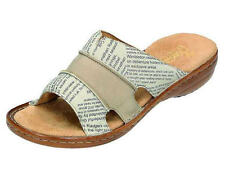 Rieker Damen-Sandalen & -Badeschuhe aus Echtleder für Kleiner Absatz (Kleiner als 3 cm)