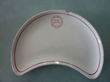Rare South Eastern Railway - Deal Hotel - Kidney Shaped Side Plate