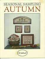 Autumn Samplers Seasonal Sampling Counted Cross Stitch Pattern Leaflet