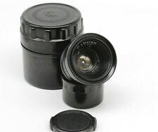 JUPITER-12 2,8/35mm USSR Rangefinder Black Lens m39 FED Zorki Leica L39 LTM O16