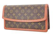 Authentic Vintage LOUIS VUITTON Dame GM Monogram Clutch Bag Purse #35609