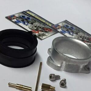 Keihin FCR Carburetor Adapter, Jetting, Boot / Suzuki DRZ 400 SM 400sm fcr39 Kit