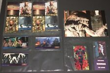 BIG OLD PROMO SHEET LOT ~ 2 WATERWORLD+STAR WARS WIDE+ALIENS PHONE CARD+SPAWN!