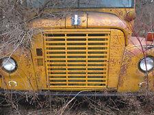 1968 international harvester school bus front grill