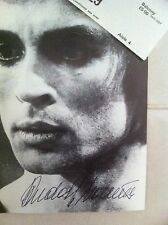 Rudolph Nureyev Authentic Autograph and memorabilia